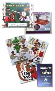 paper-craft-knights-in-battle