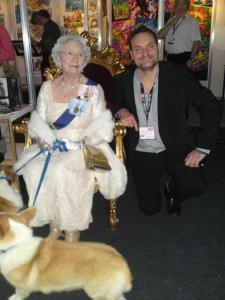 ed-meets-the-queen-at-brand-licensing-europe-2011