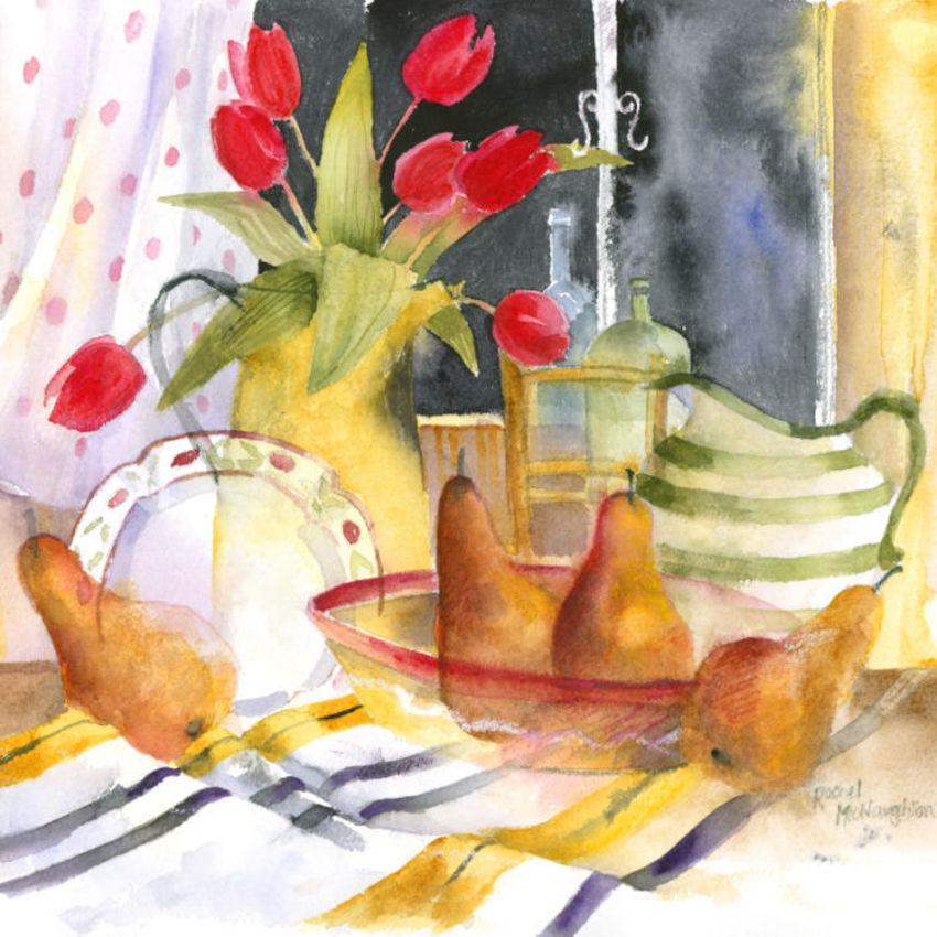 330 - Tulips and Pears.jpg