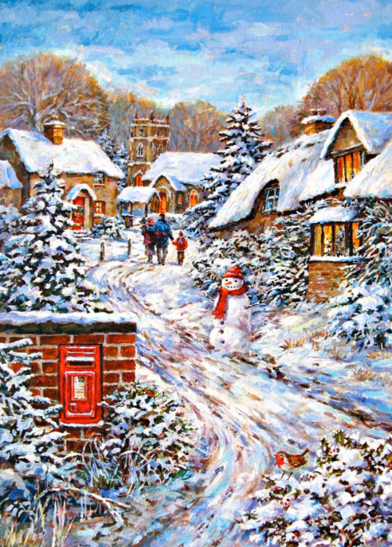 Darren Pinder Xmas Village Scene.jpg