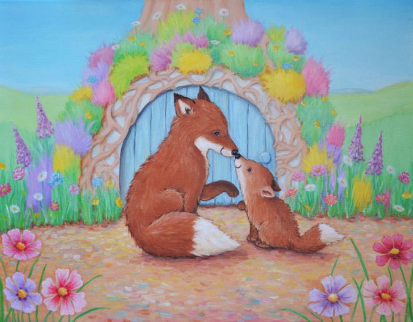 Fox And Cub Col 2 Col Amend