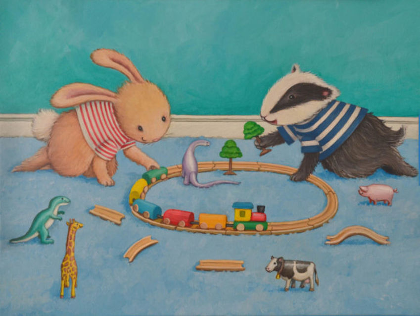 Bunny And Badger