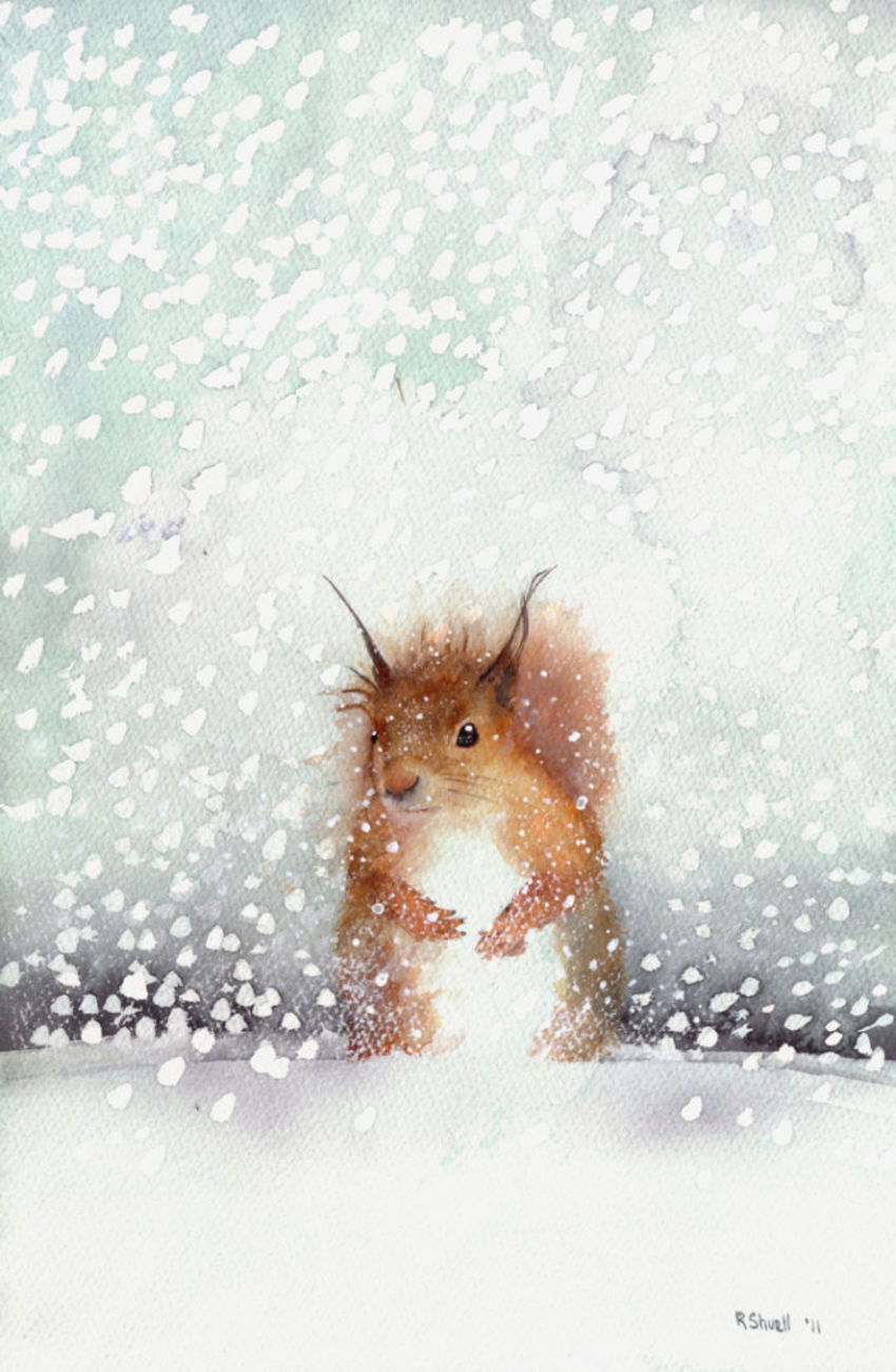 RedSquirrelSnow