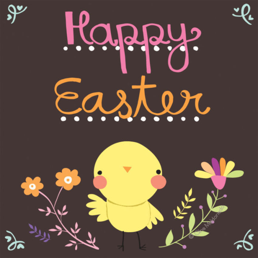 Happy Easter Card - GM