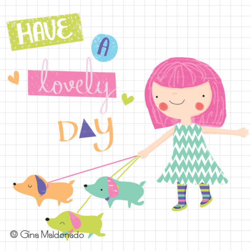 Lovely Day Card - GM