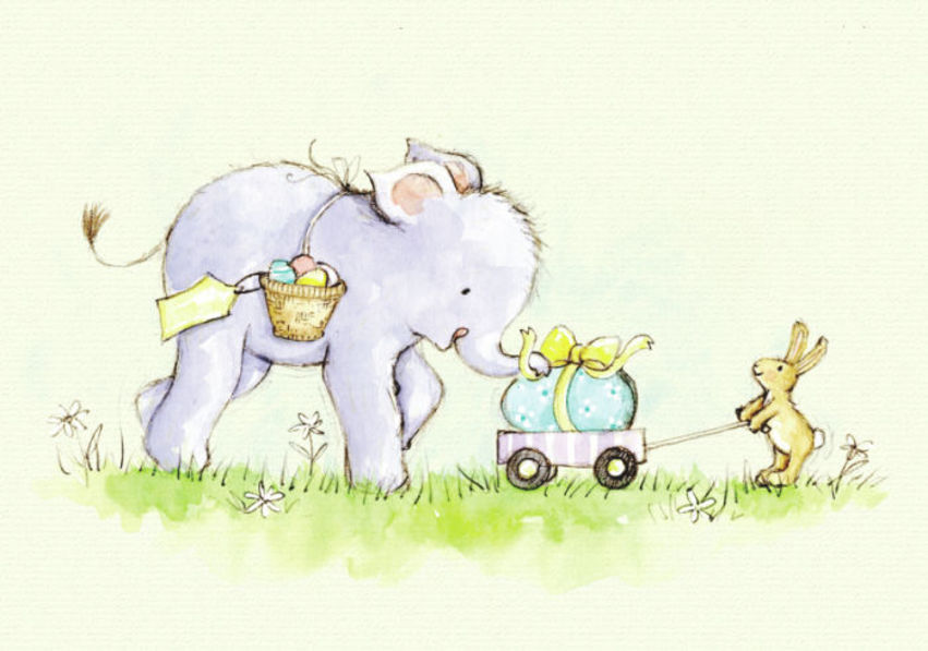 Elefump Elephant Easter