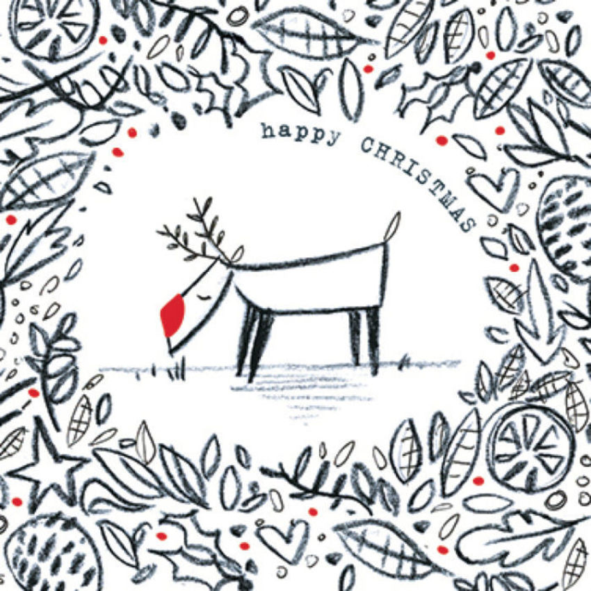 Reindeer Paperchase Cards