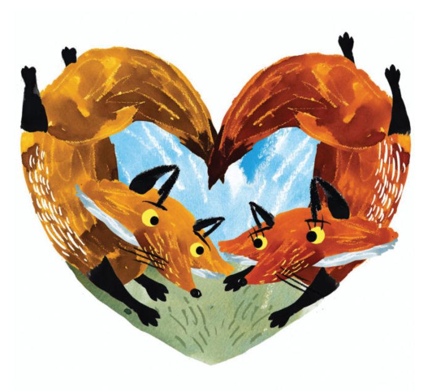 Valentine Foxes
