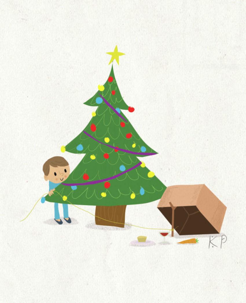 Kev Payne Portfolioxmass Tree Boy