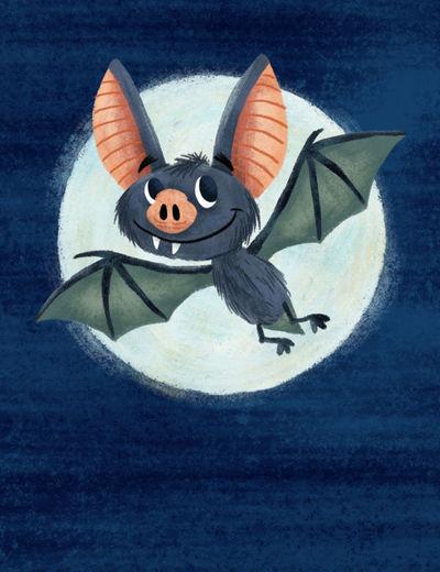 bat-and-moon