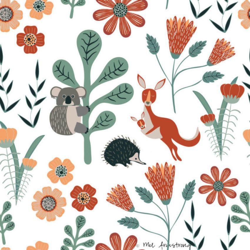 Koala-kangaroo-and-echidna-pattern