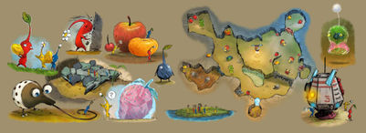 map-and-characters