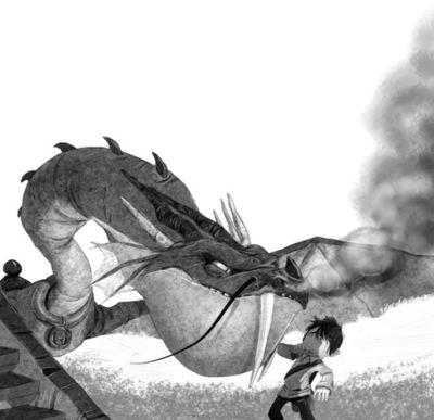 26-dragon-black-and-white