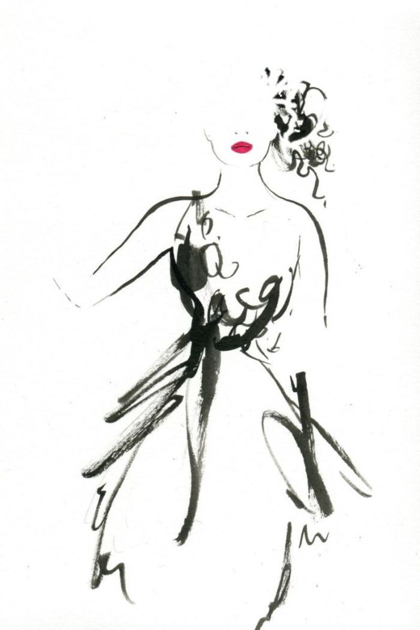Figurative With Black And White