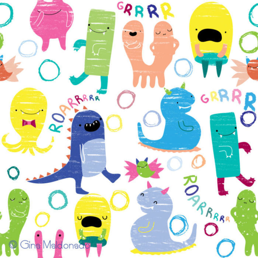 Crayon Monsters - GM