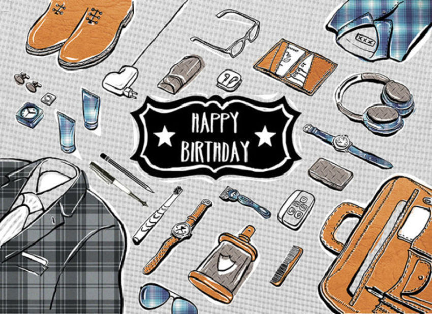 MHC_male_happy_birthday_icons_suit_shoes_briefcase_headphone_watches