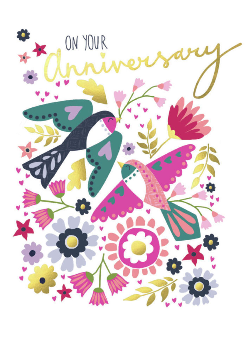 Anniversary-swallows