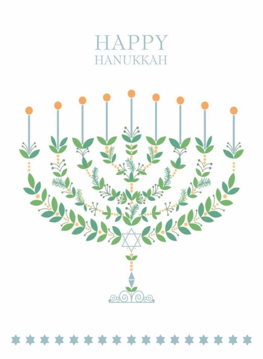 Candlestick Menorah