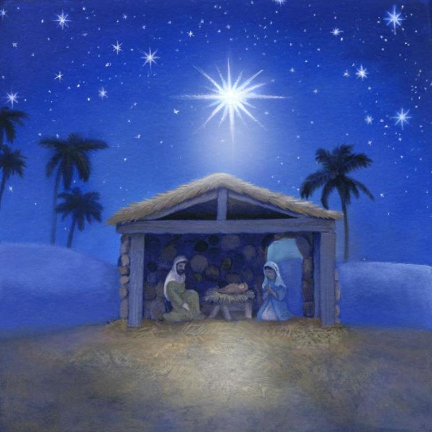 LA - Blue Nativity