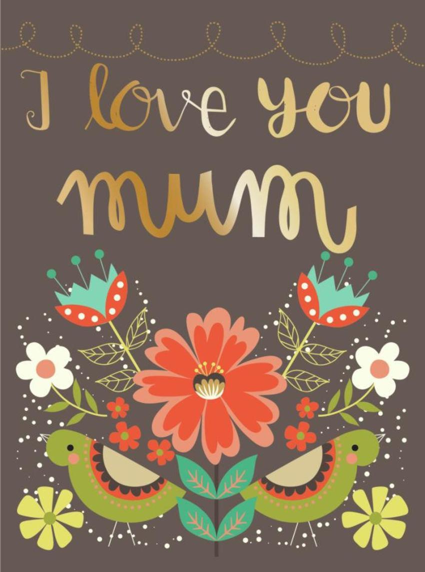 CARDS_15 Birds - I Love You Mum - GM