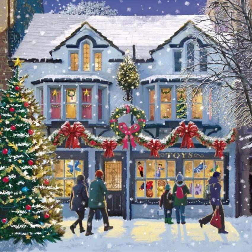 Christmas Shopping Copy