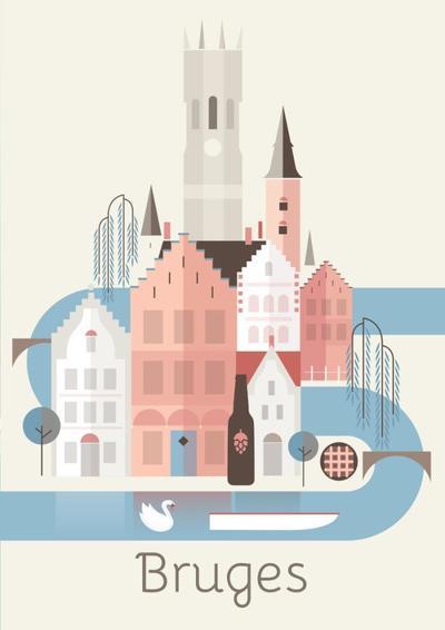 bruges-belgium-travel-graphic