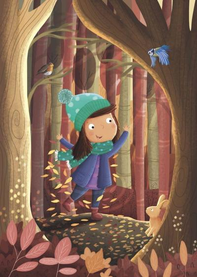 girl-in-forest