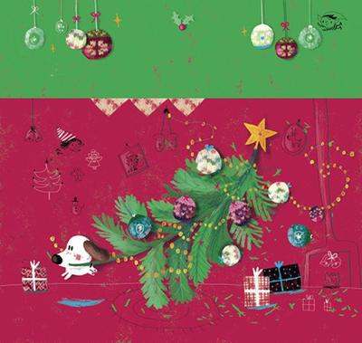 12decembercalendarchristmasdogtree