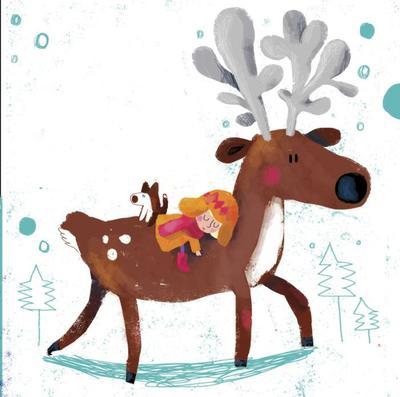 17girl-dog-reindeer-snowqueen-fairytale