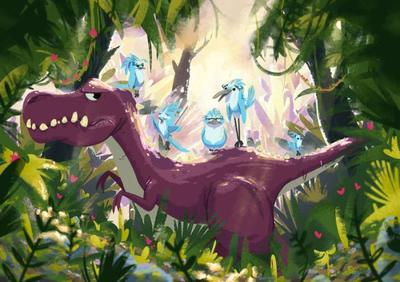 dino-and-the-singing-birds
