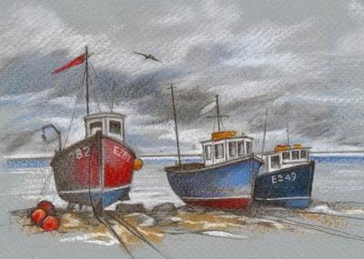 boats-fishing-coast-seaside-beach