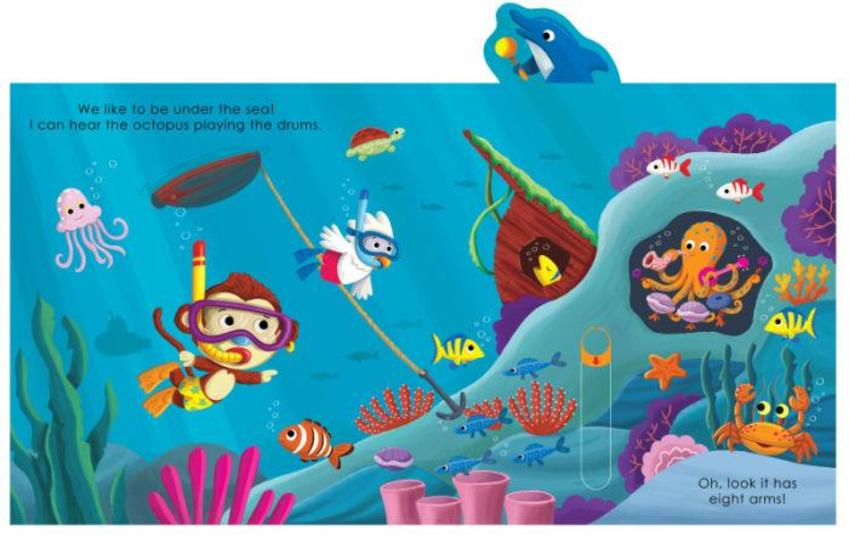 UNPUBLISHED UNDER THE SEA ACTIVITY BOOK