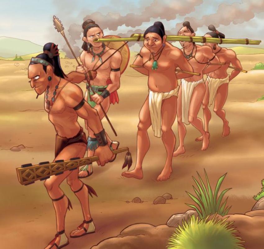 HowToLive_Aztec Prisoners