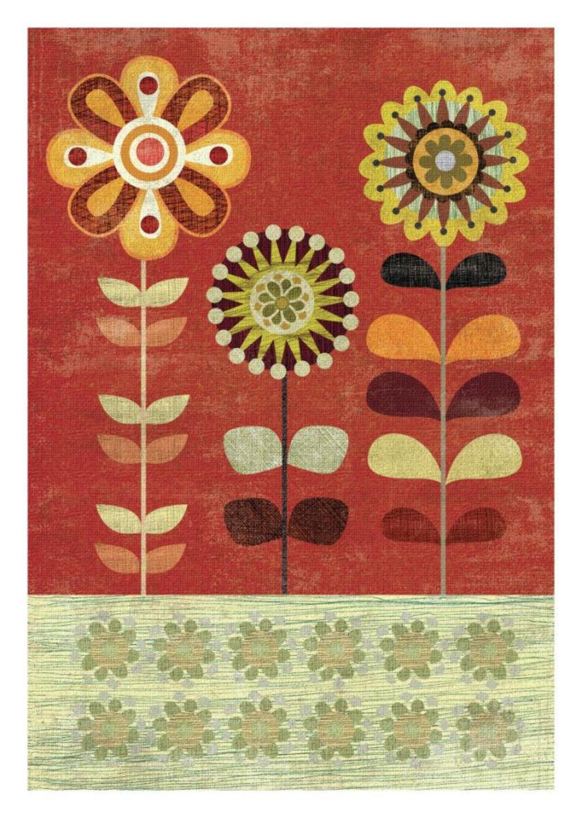 SAGE AND ORANGE Floral 4