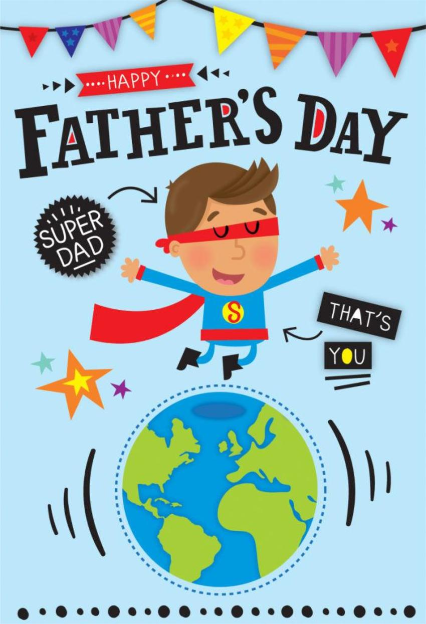 Super-dad-card