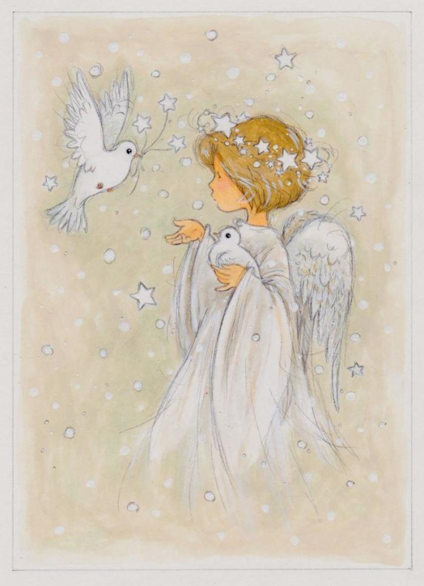 Angel And Doves