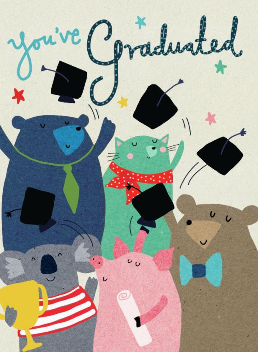 GRADUATION ANIMALS