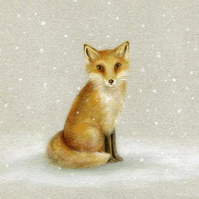 christmas-snow-fox