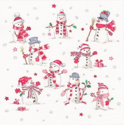tiny-snowmen