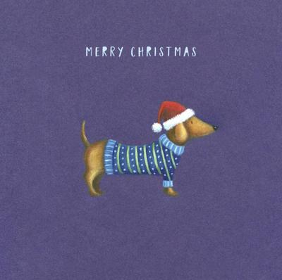 christmas-sauage-dog-woolly-jumper-hat