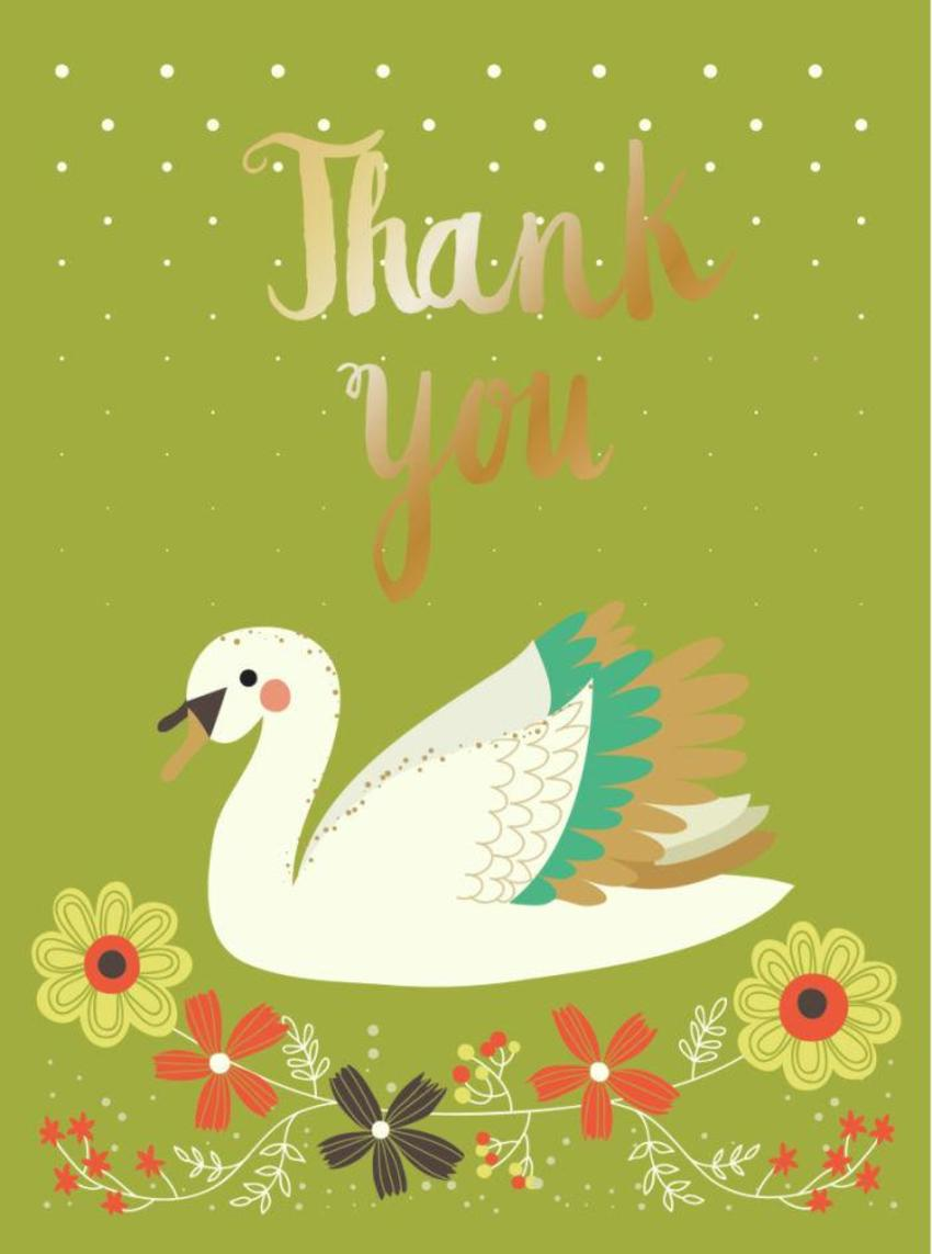 CARDS_01 Swan - Thank You - GM