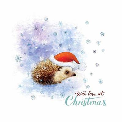 christmas-card-hedgehog