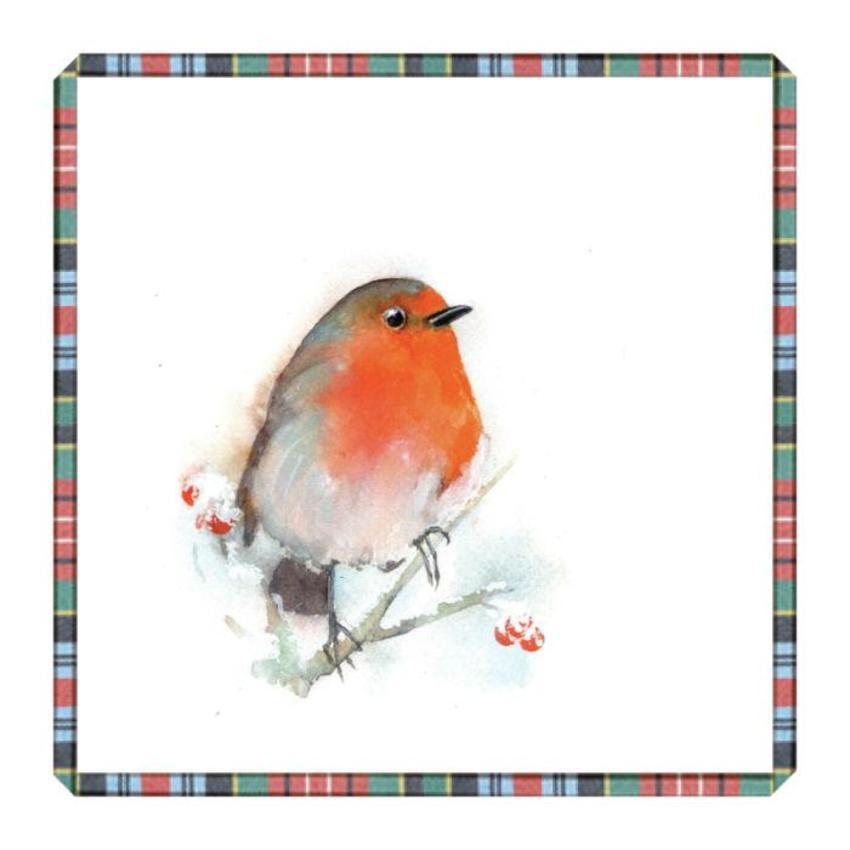 Robin Tartan Christmas Frost
