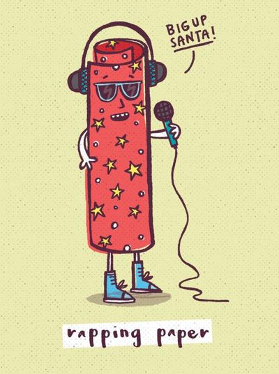 rapping-paper-character