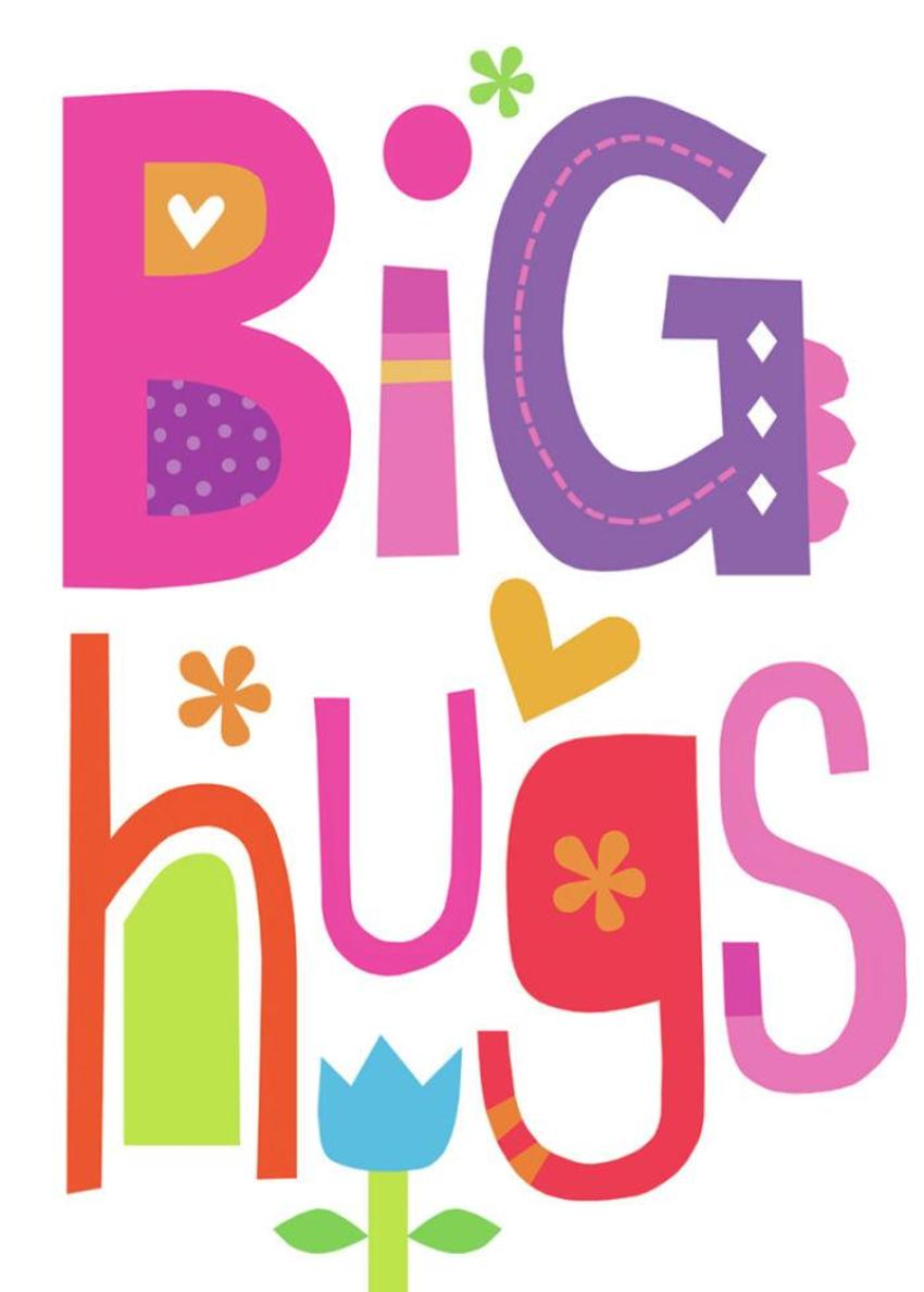 Jayne Schofield Big Hugs Card