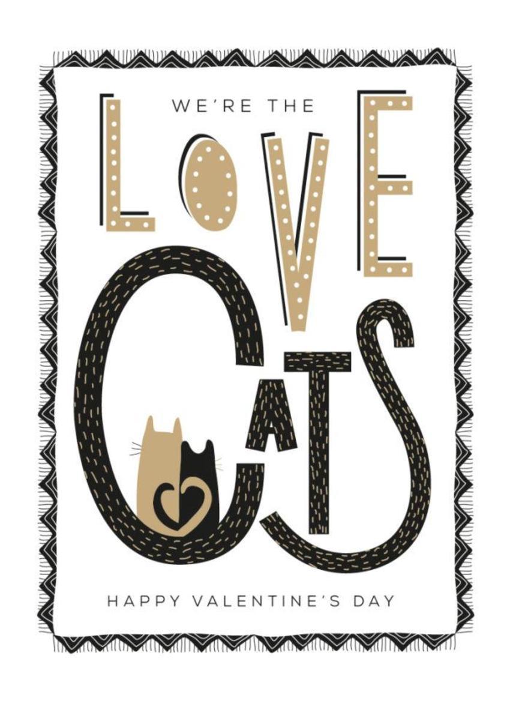 RP Love Cats Valentines Birthday Partner Husband Wife