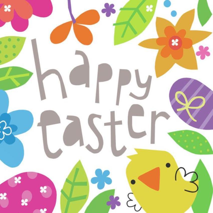 Jayne Schofield Floral Border Easter