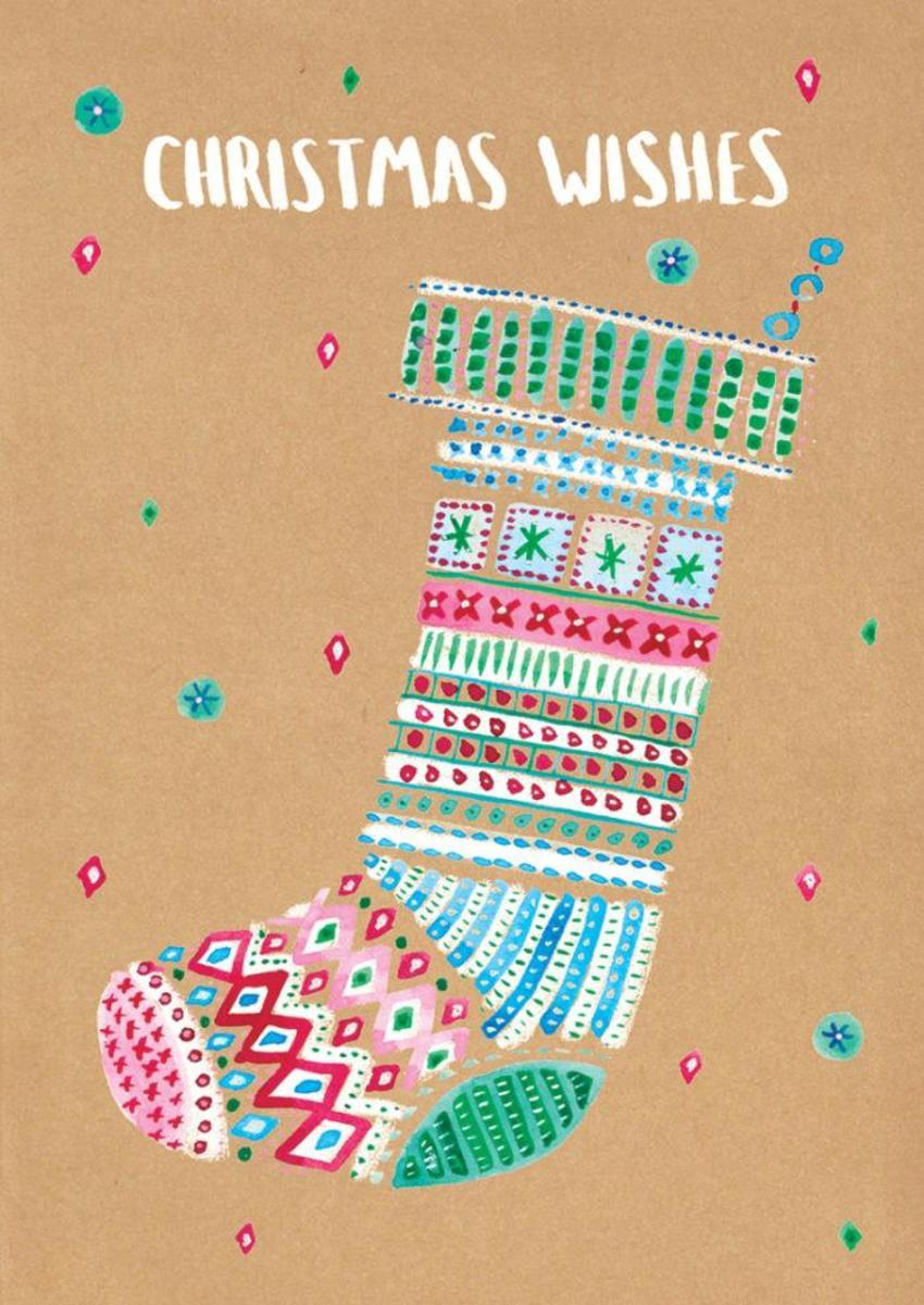 RP Christmas Craft Stocking