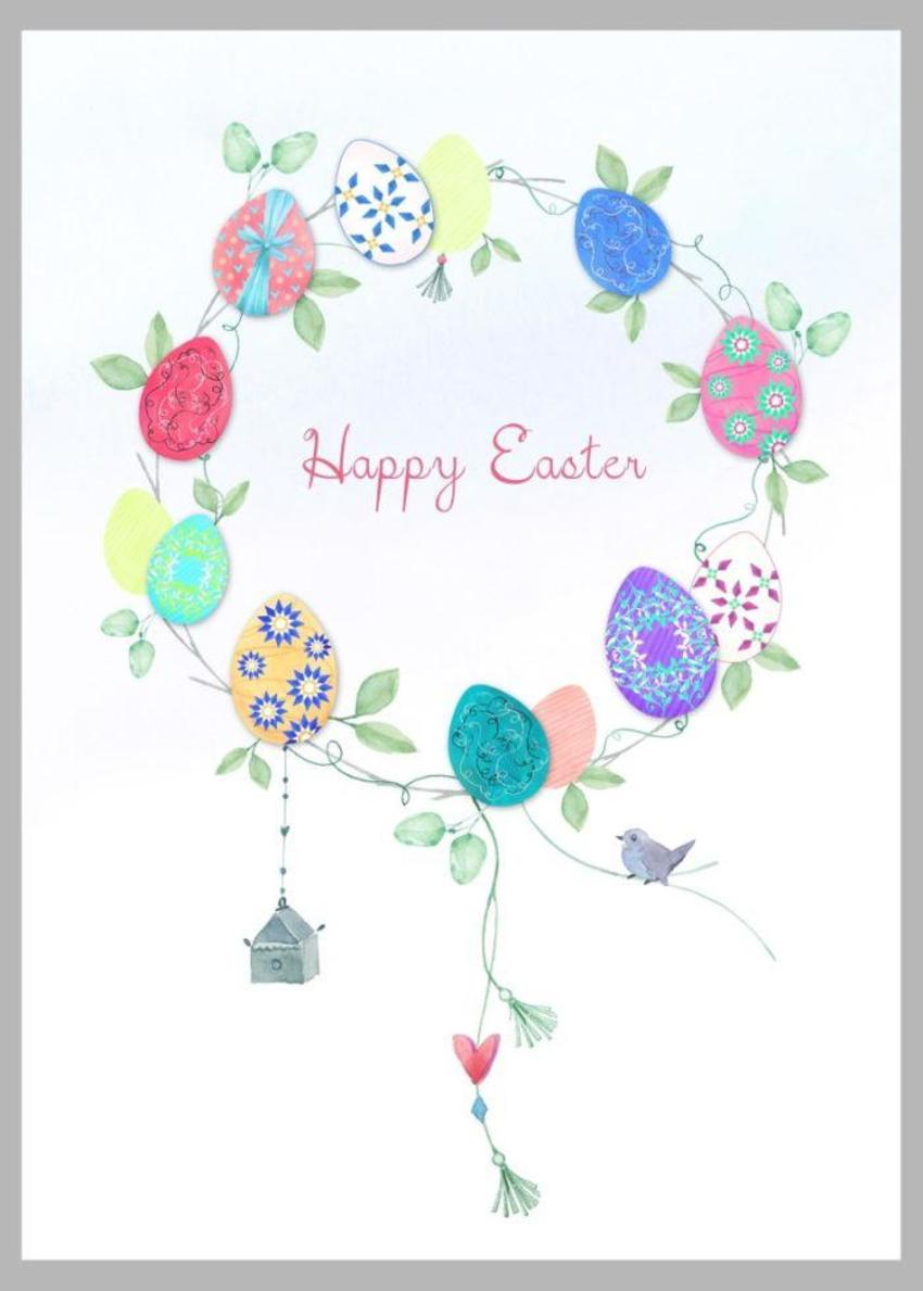 Easter Egg Wreath Copy