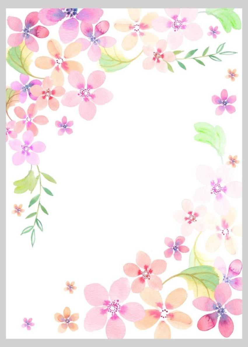 Floral Watercolour Loose Style 1